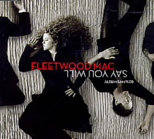 "Fleetwood Mac Say You Will Album Sampler CD single (CD5 / 5"") UK MACC5SA276982"
