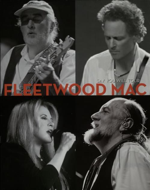 Fleetwood Mac Say You Will Tour tour programme UK MACTRSA565170
