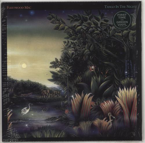 Fleetwood Mac Tango In The Night - Green Vinyl - Sealed vinyl LP album (LP record) UK MACLPTA734562