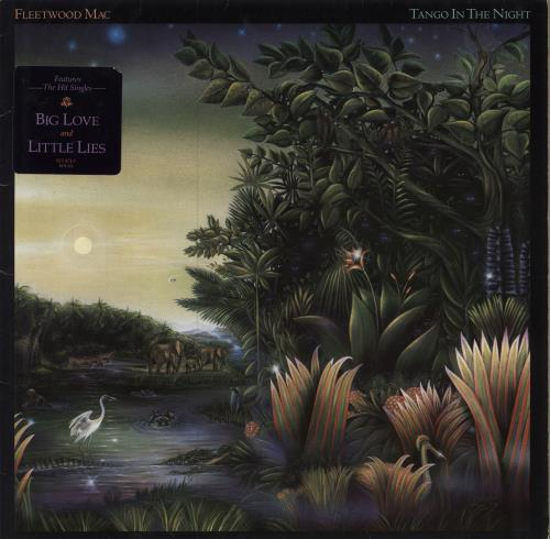 Fleetwood Mac Tango In The Night - Stickered vinyl LP album (LP record) UK MACLPTA231597
