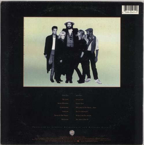Fleetwood Mac Tango In The Night vinyl LP album (LP record) Italian MACLPTA727289