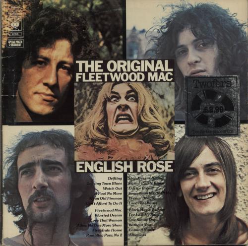 Fleetwood Mac The Original Fleetwood Mac / English Rose 2-LP vinyl record set (Double Album) UK MAC2LTH681787