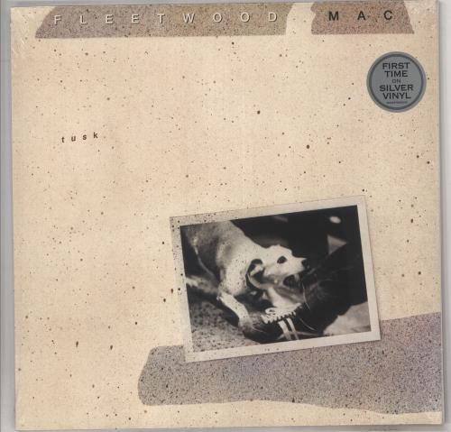 Fleetwood Mac Tusk - Silver Vinyl - Sealed 2-LP vinyl record set (Double Album) UK MAC2LTU734559
