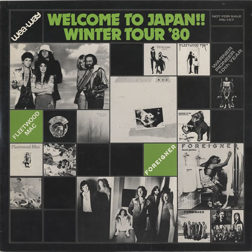Fleetwood Mac Welcome To Japan - Winter Tour '80 vinyl LP album (LP record) Japanese MACLPWE40137