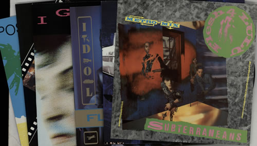 "Flesh For Lulu Quantity of Seven 12"" Singles 12"" vinyl single (12 inch record / Maxi-single) UK FLE12QU629521"