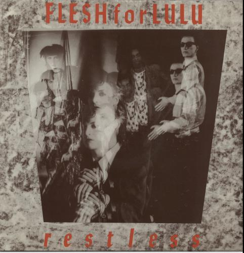 "Flesh For Lulu Restless 12"" vinyl single (12 inch record / Maxi-single) UK FLE12RE648828"