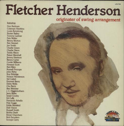 "Fletcher Henderson ""Smack"" Originater Of Swing Arrangement vinyl LP album (LP record) Italian FEHLPSM672876"