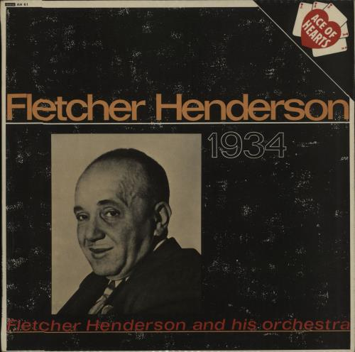 Fletcher Henderson 1934 - Nineteen Thirty Four vinyl LP album (LP record) UK FEHLPNI448629