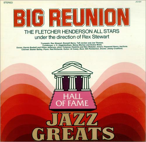 Fletcher Henderson Big Reunion vinyl LP album (LP record) US FEHLPBI446631