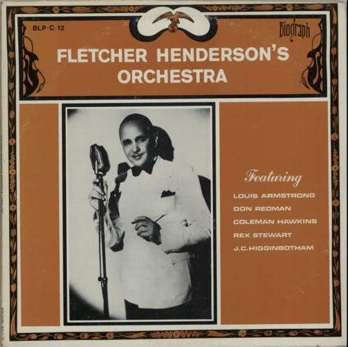 Fletcher Henderson Fletcher Henderson's Orchestra vinyl LP album (LP record) US FEHLPFL585336