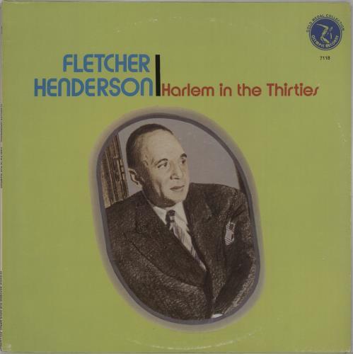 Fletcher Henderson Harlem In The Thirties vinyl LP album (LP record) US FEHLPHA669897