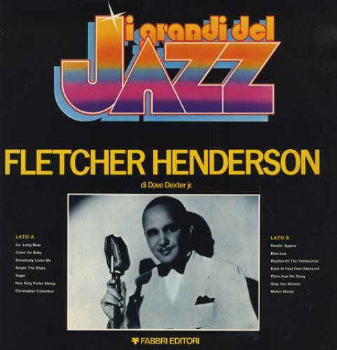 Fletcher Henderson I Grandi Del Jazz #06 vinyl LP album (LP record) Italian FEHLPIG404659
