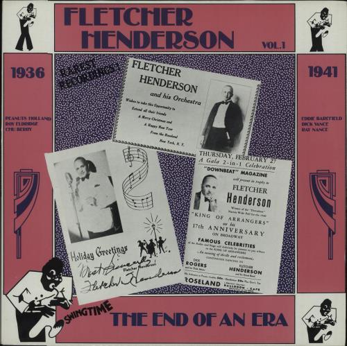 Fletcher Henderson The End Of An Era Vol. 1 vinyl LP album (LP record) Italian FEHLPTH670046