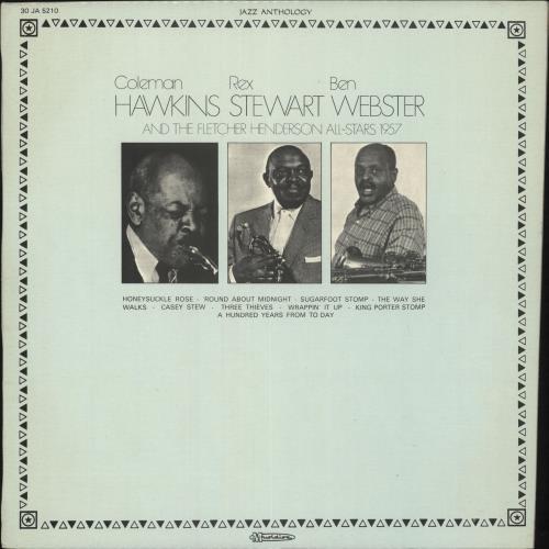 Fletcher Henderson The Fletcher Henderson All-Stars Under The Direction Of Rex Stewart vinyl LP album (LP record) French FEHLPTH725790