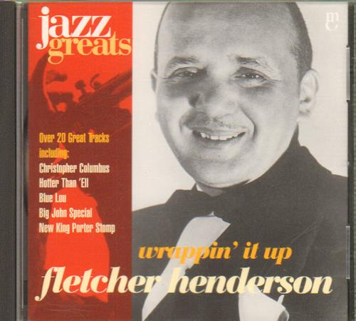 Fletcher Henderson Wrappin' It Up CD album (CDLP) Irish FEHCDWR657152