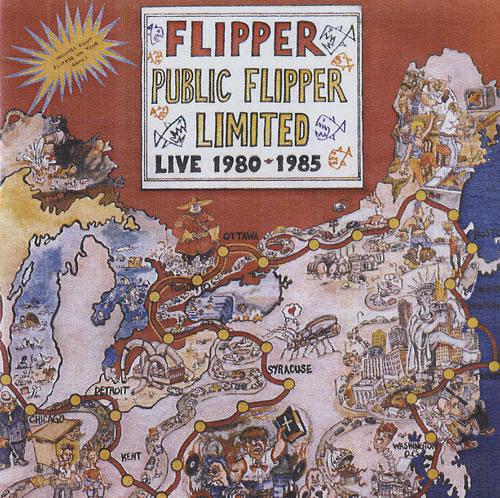 Flipper Public Flipper Limited Live 1980-1985 2 CD album set (Double CD) UK FDU2CPU493328