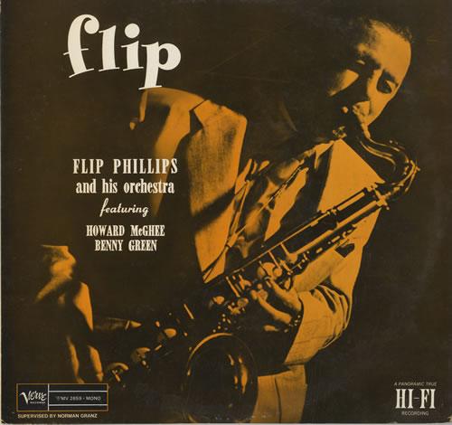 Flip Phillips Flip vinyl LP album (LP record) Japanese FPHLPFL564897