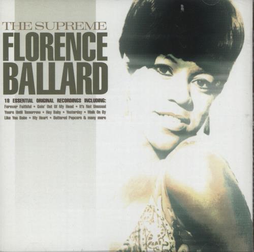 Florence Ballard The Supreme Florence Ballard CD album (CDLP) UK FB1CDTH701257