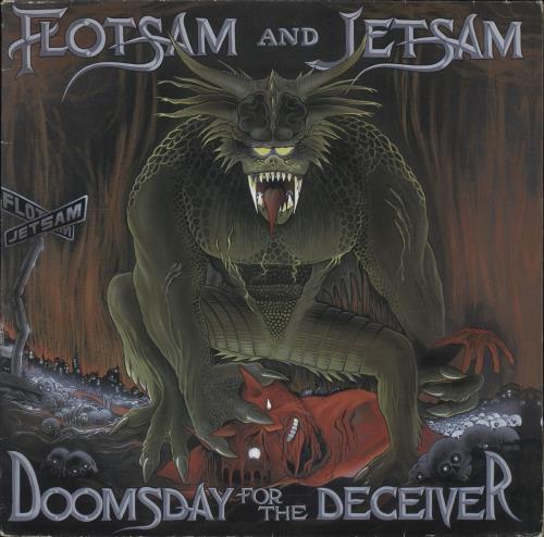 Flotsam And Jetsam Doomsday For The Deceiver vinyl LP album (LP record) Dutch F&JLPDO391636