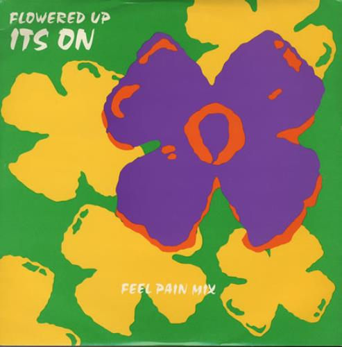 """Flowered Up It's On - Feel Pain 10"""" vinyl single (10"""" record) UK FUP10IT114318"""