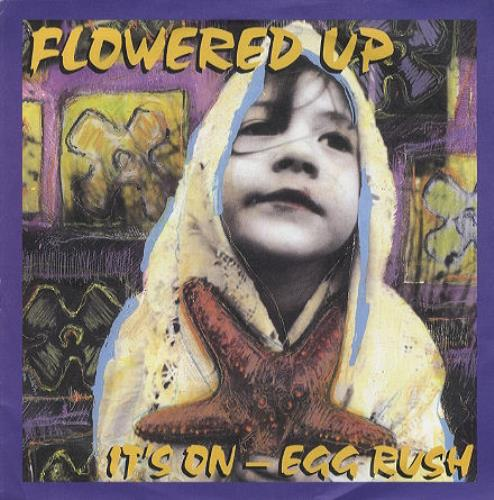 """Flowered Up It's On 7"""" vinyl single (7 inch record) UK FUP07IT163604"""