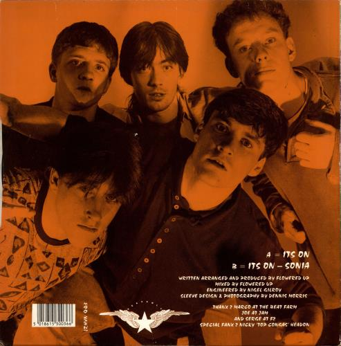 """Flowered Up It's On 12"""" vinyl single (12 inch record / Maxi-single) UK FUP12IT693840"""