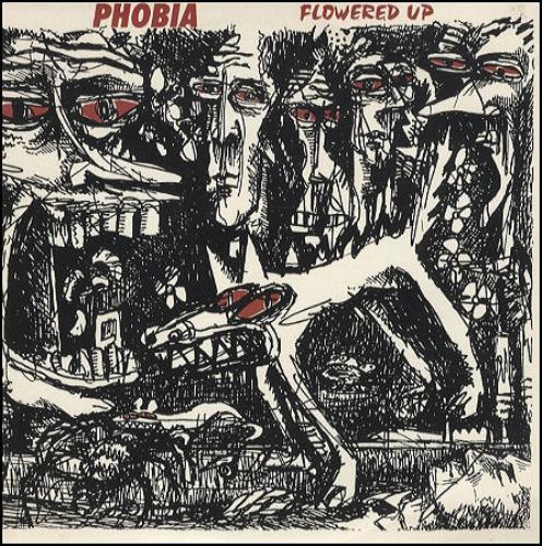 "Flowered Up Phobia 7"" vinyl single (7 inch record) UK FUP07PH183325"