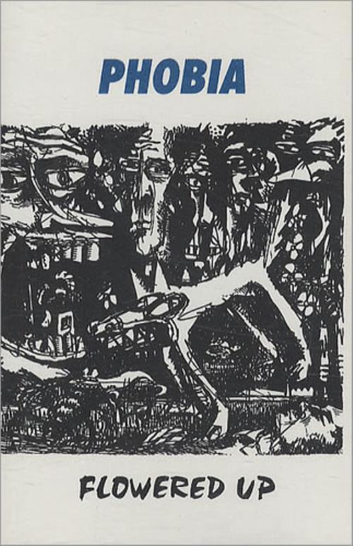 Flowered Up Phobia cassette single UK FUPCSPH192293