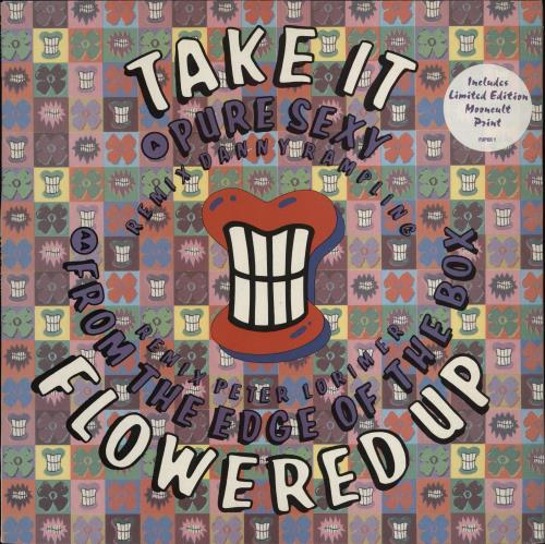 "Flowered Up Take It + Print 12"" vinyl single (12 inch record / Maxi-single) UK FUP12TA103126"