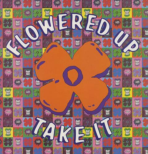 "Flowered Up Take It 12"" vinyl single (12 inch record / Maxi-single) UK FUP12TA159588"