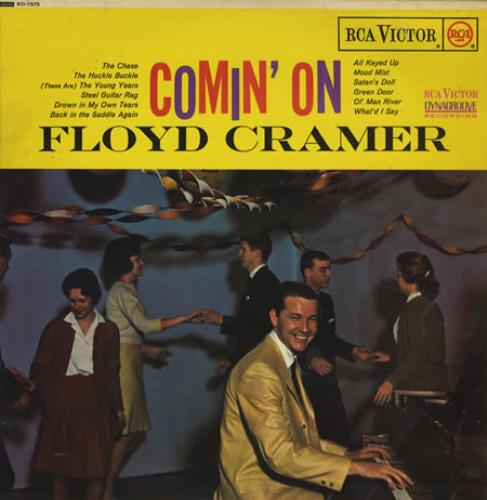 Floyd Cramer Comin' On vinyl LP album (LP record) UK FMRLPCO385106