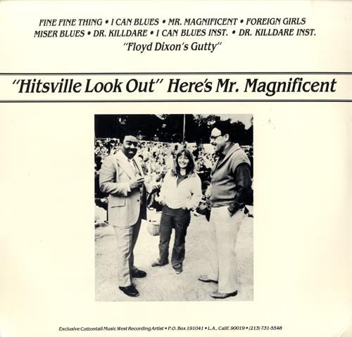 Floyd Dixon Hitsville Look Out Here's Mr. Magnificent - Sealed vinyl LP album (LP record) US FN1LPHI550963