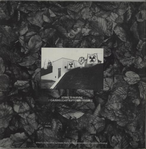 Flux Of Pink Indians Strive To Survive Causing Least Suffering Possible vinyl LP album (LP record) UK FAJLPST658597