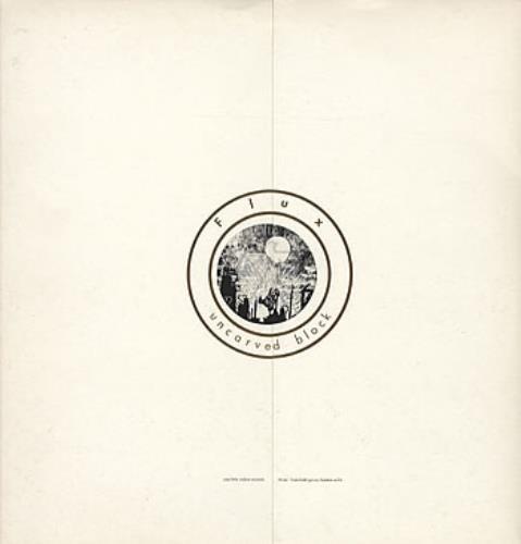 Flux Of Pink Indians Uncarved Block vinyl LP album (LP record) UK FAJLPUN304508