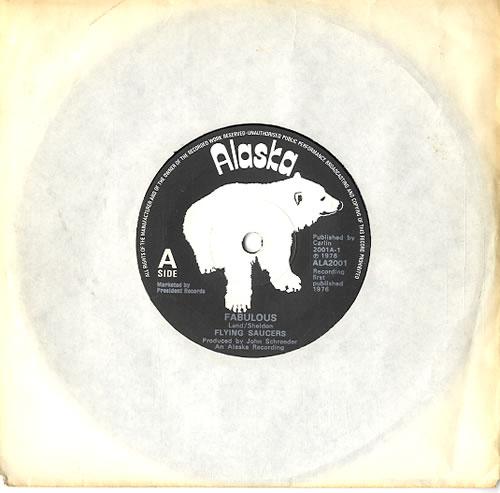 "Flying Saucers Fabulous 7"" vinyl single (7 inch record) UK 7FS07FA612430"