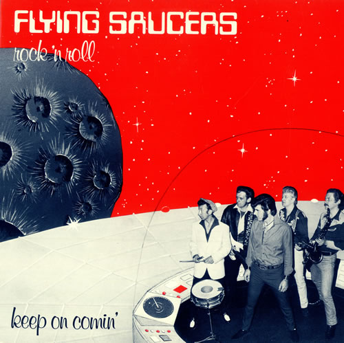 Flying Saucers Keep On Comin' vinyl LP album (LP record) UK 7FSLPKE494738