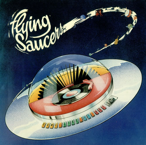 Flying Saucers Some Like It Hot vinyl LP album (LP record) UK 7FSLPSO494735