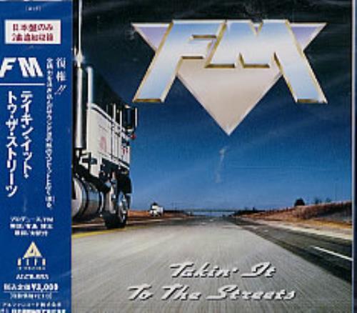 FM Takin' It To The Streets CD album (CDLP) Japanese F-MCDTA250883
