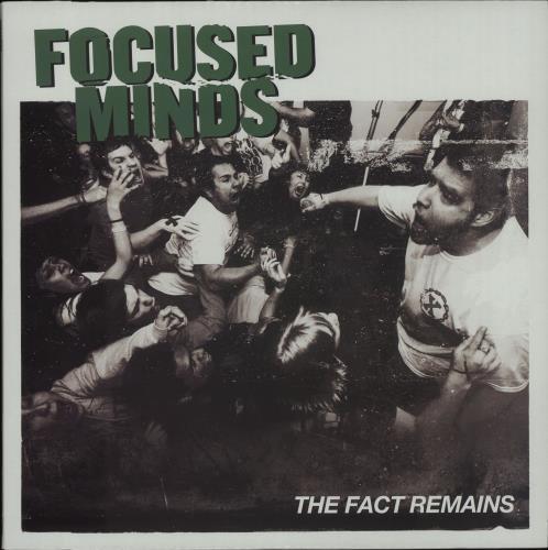 Focused Minds The Fact Remains vinyl LP album (LP record) US IQ7LPTH656048