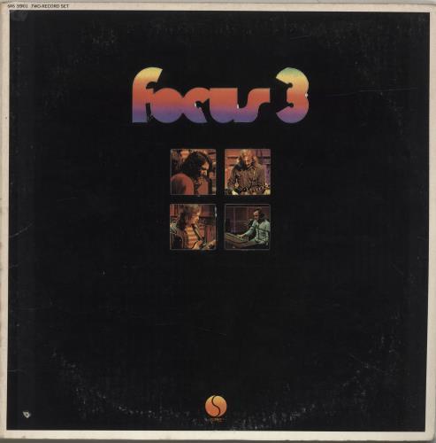 Focus Focus 3 Us 2 Lp Vinyl Record Set Double Album 272561