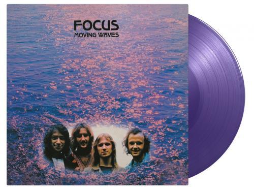 Focus Moving Waves - Purple Vinyl 180-gram vinyl LP album (LP record) UK FOCLPMO763466
