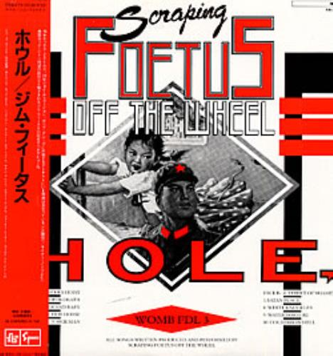 Foetus (+incarnations of) Hole vinyl LP album (LP record) Japanese FOELPHO229453