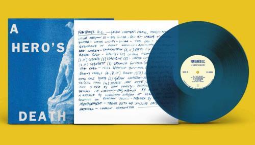 Fontaines D.C. A Hero's Death - Stormy Blue Vinyl - Sealed vinyl LP album (LP record) UK 11OLPAH749845