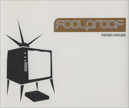 """Foolproof Paper House CD single (CD5 / 5"""") UK FPFC5PA473756"""