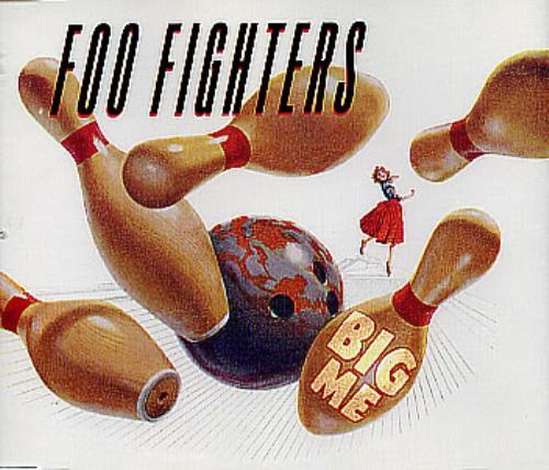 "Foo Fighters Big Me CD single (CD5 / 5"") Dutch FOOC5BI260157"