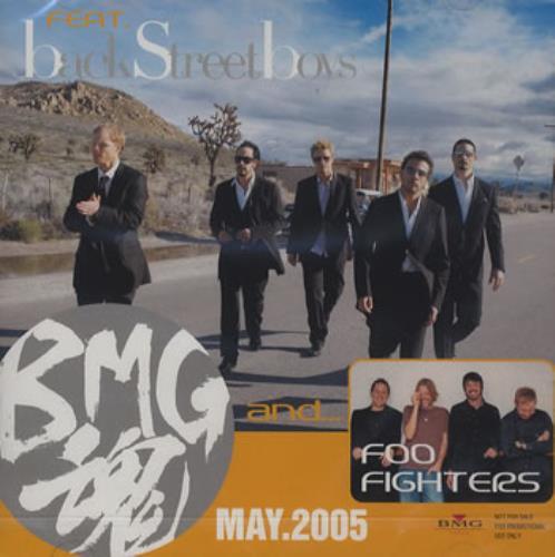 Foo Fighters BMG May 2005 CD album (CDLP) Japanese FOOCDBM353993