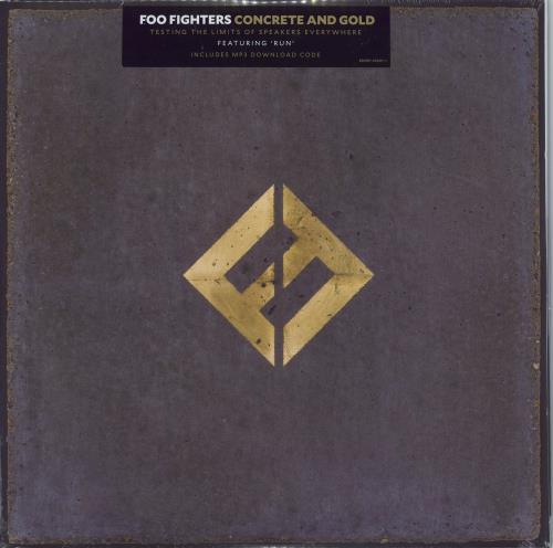 Foo Fighters Concrete And Gold - Sealed 2-LP vinyl record set (Double Album) UK FOO2LCO773875