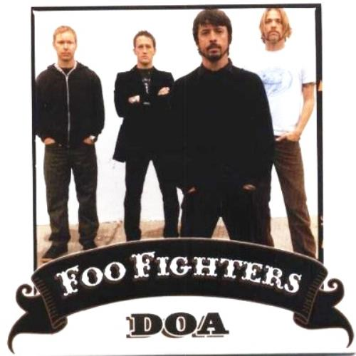 "Foo Fighters DOA CD single (CD5 / 5"") Mexican FOOC5DO337143"