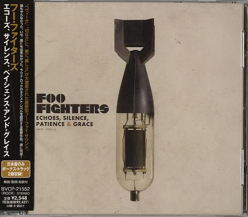 Foo Fighters Echoes, Silence, Patience & Grace CD album (CDLP) Japanese FOOCDEC448387