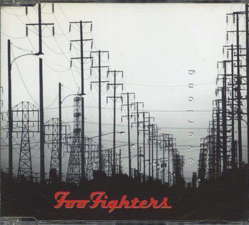 "Foo Fighters Everlong CD single (CD5 / 5"") Dutch FOOC5EV87605"